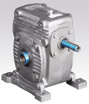 Under Driven Worm Reduction Gearbox, Custom Designed